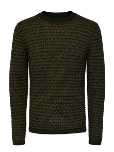 Only & Sons Trui onsDOC CREW NECK KNIT NOOS 22004485 Deep Depths