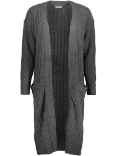 Jacqueline de Yong Vest JDYSERENA L/S CARDIGAN KNT 15137091 Dark Grey Melange