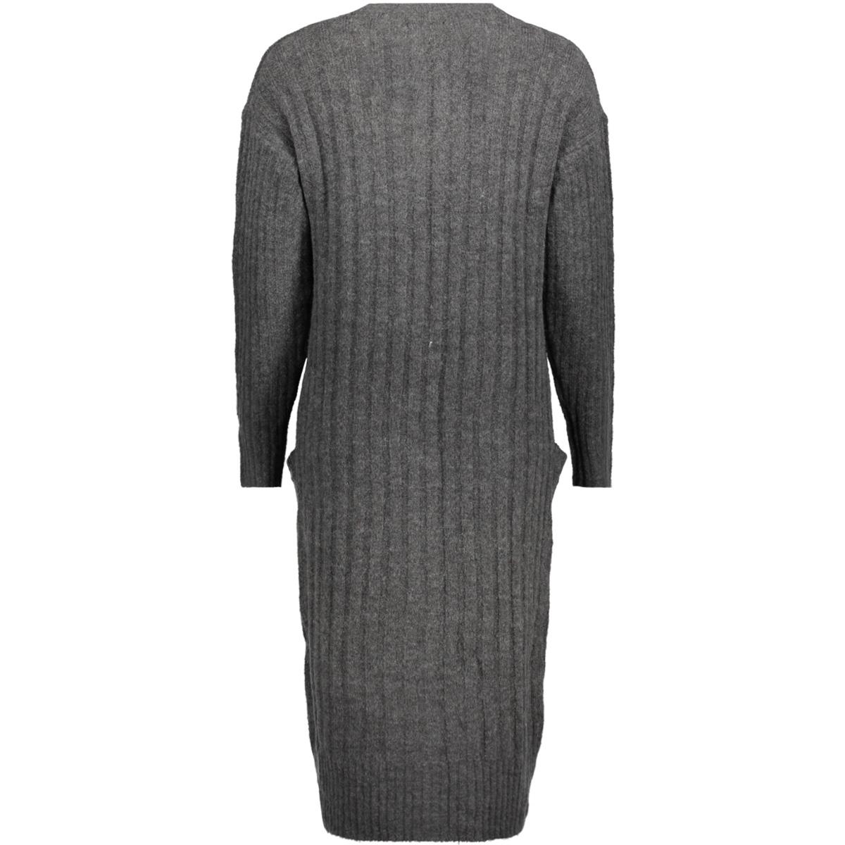 jdyserena l/s cardigan knt 15137091 jacqueline de yong vest dark grey melange