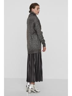 vmholtville porter ls long blouse 10182510 vero moda trui dark grey melange
