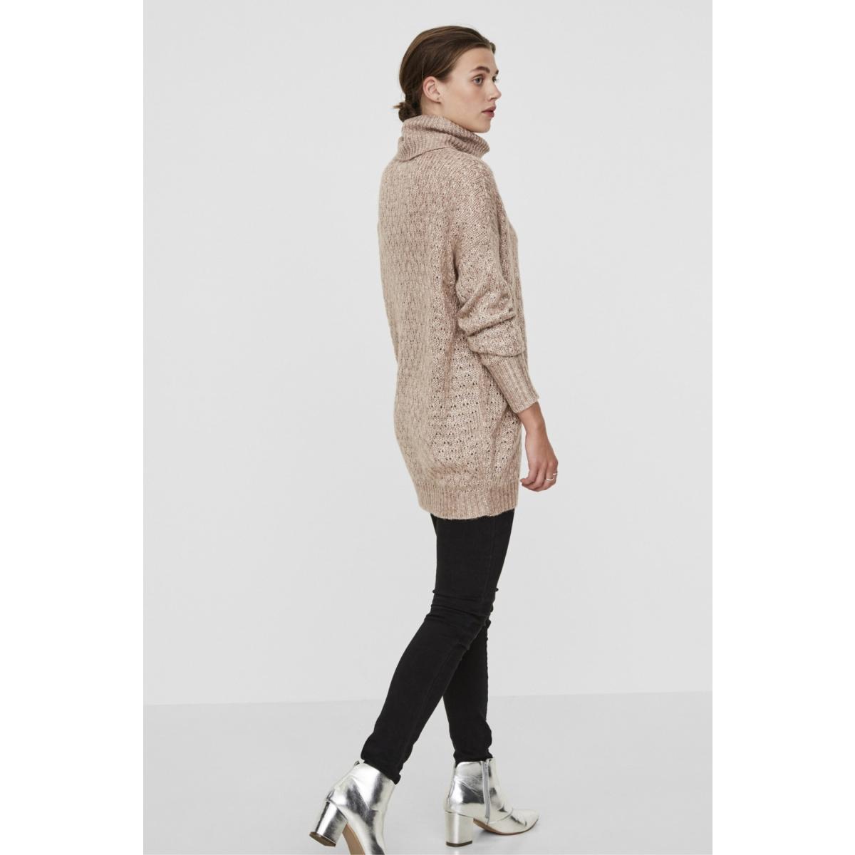 vmholtville porter ls long blouse 10182510 vero moda trui rose cloud/melange