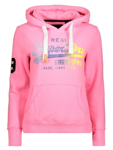 Superdry Sweater G20025PP MJN /Fluro Pink Marl