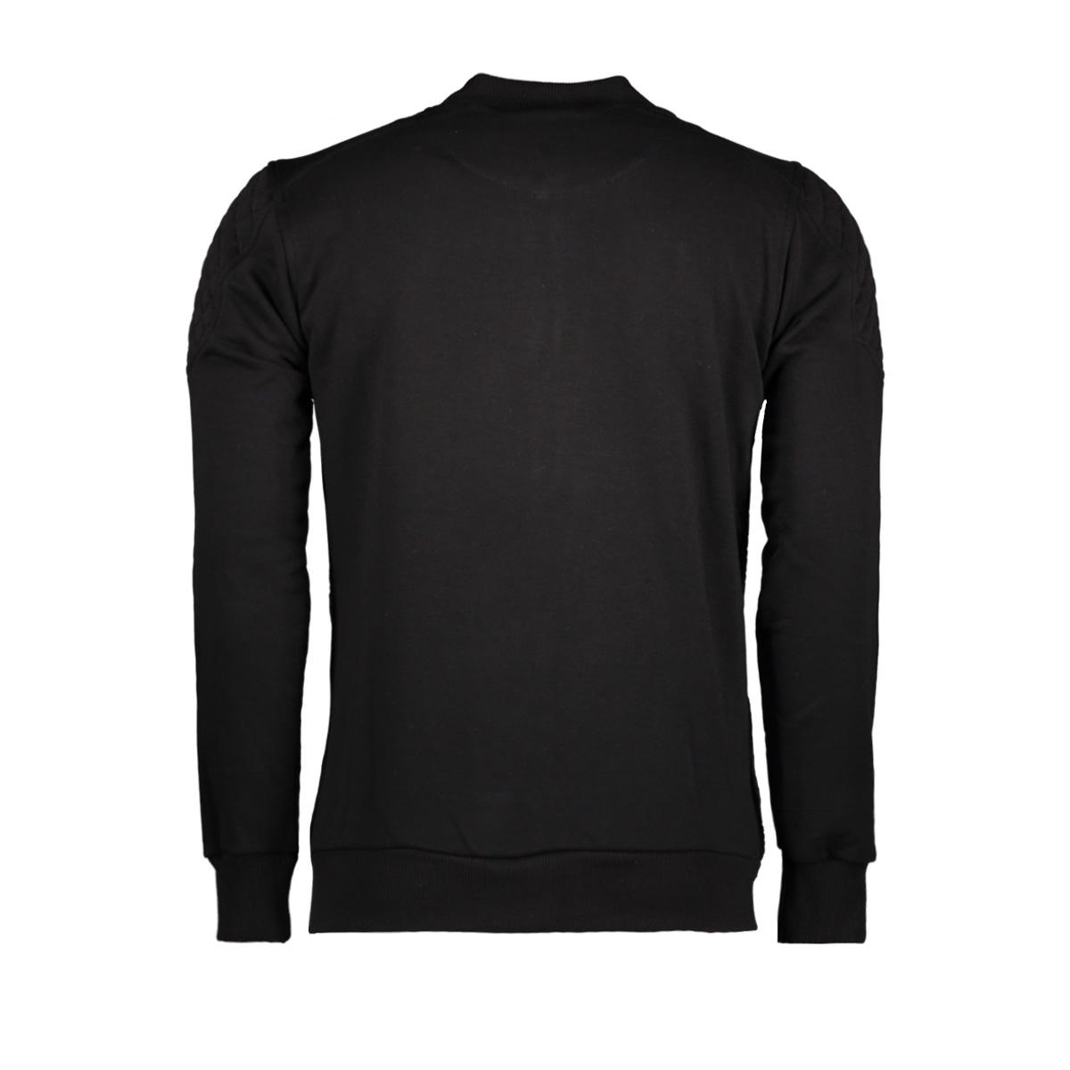 42101 gabbiano vest black