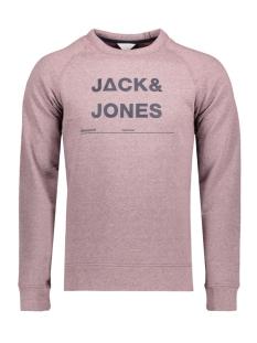 Jack & Jones Sweater JCOCASPAR SWEAT CREW NECK 12128567 Fudge