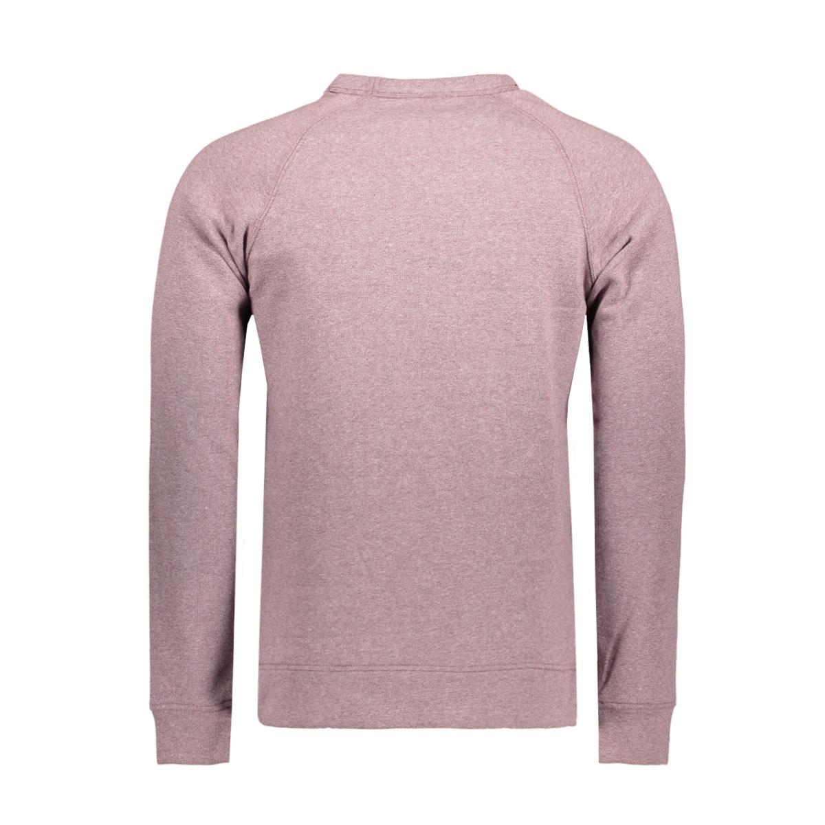 jcocaspar sweat crew neck 12128567 jack & jones sweater fudge