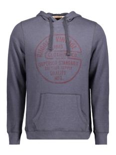 jjvpeet sweat hood 12127669 jack & jones sweater ombre blue/slim fit