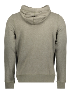 jorheritage sweat cross over hood 12127799 jack & jones sweater forest night/ slim melan