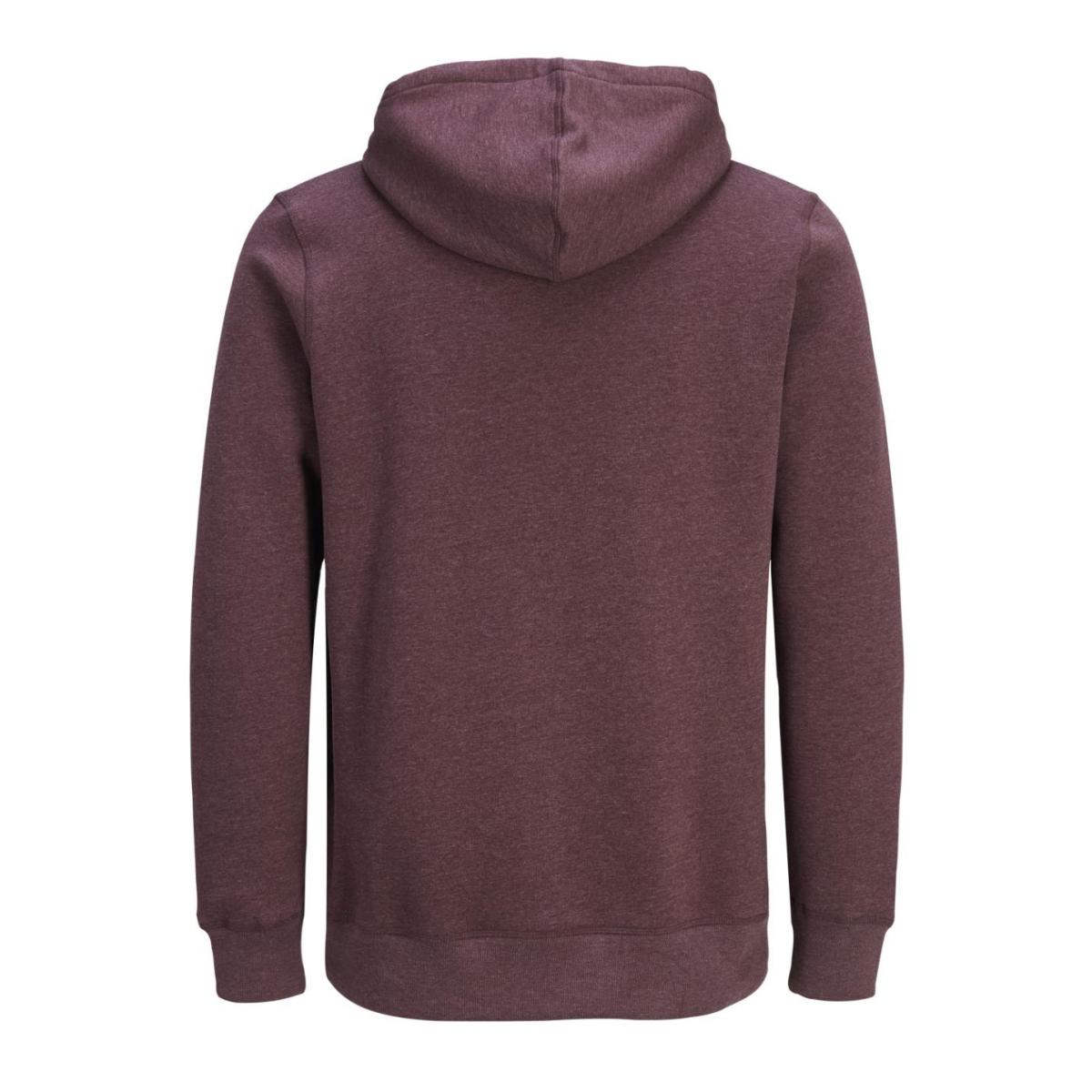 jorauthentic sweat hood 12127801 jack & jones sweater sassafras