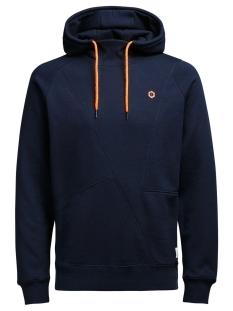 Jack & Jones Sweater JCOPINN SWEAT HOOD NOOS 12116490 Navy Blazer