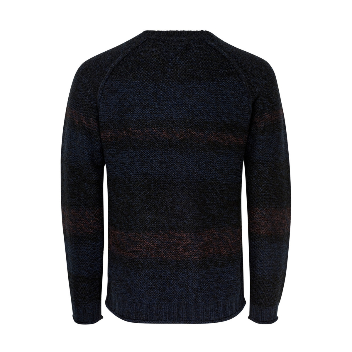 onsollan crew neck knit 22008062 only & sons trui black