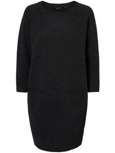 vmnatascha 7/8 dress 10175984 vero moda jurk dark grey melange