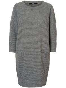 Vero Moda Jurk VMNATASCHA 7/8 DRESS 10175984 Light Grey Melange