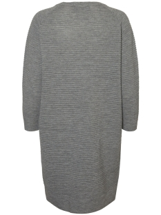 vmnatascha 7/8 dress 10175984 vero moda jurk light grey melange