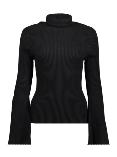 onlalma l/s bell sleeve pullover kn 15142512 only trui black