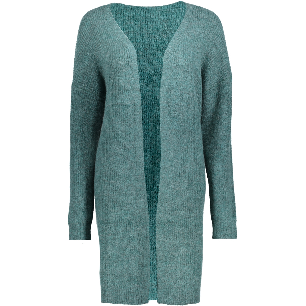 pcranda ls wool knit cardigan 17085346 pieces vest silver pine