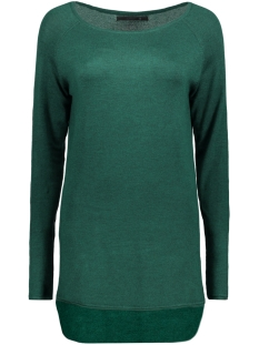 Only Trui onlMILA LACY L/S LONG PULLOVER KNT 15109964 Rain forest
