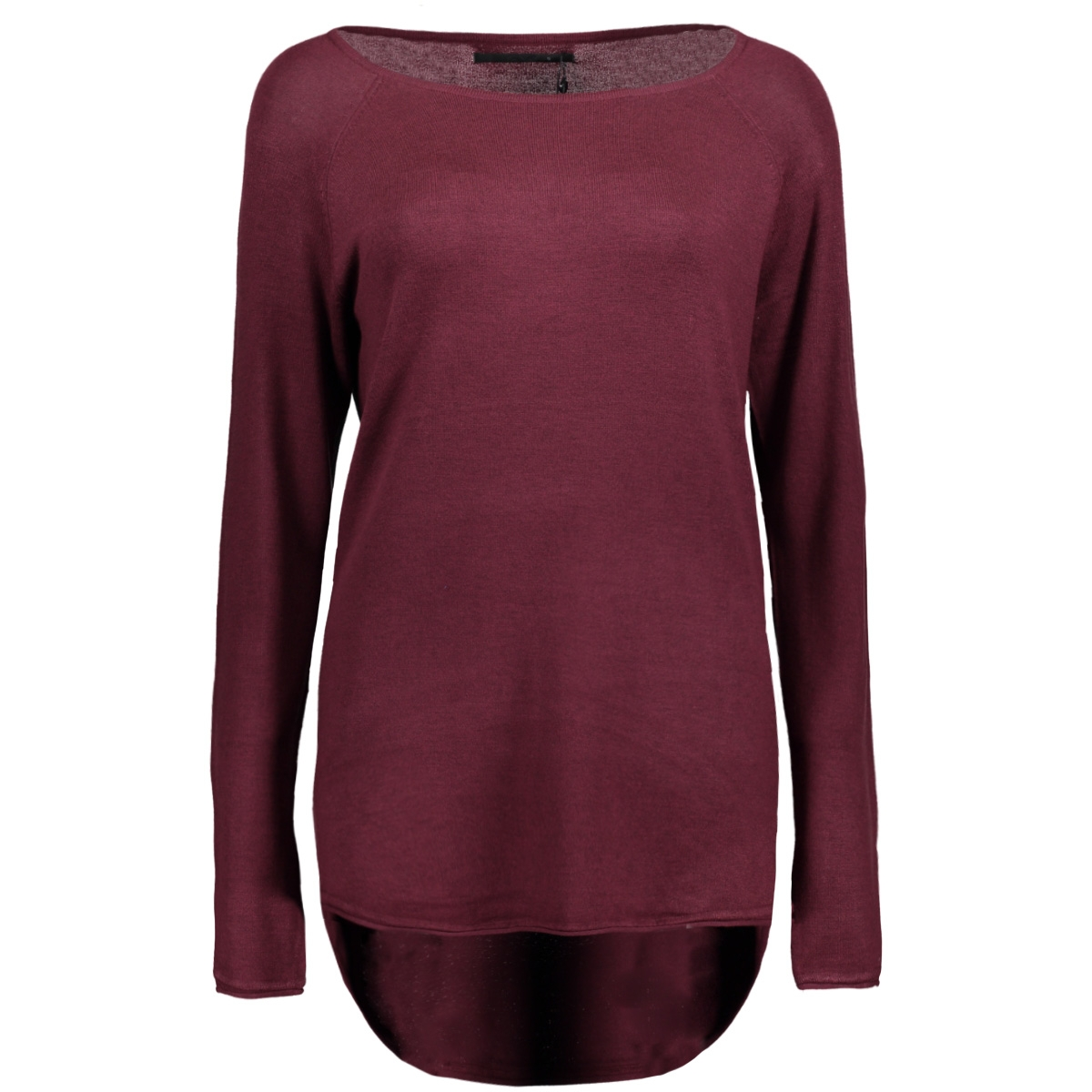 onlmila lacy l/s long pullover knt 15109964 only trui port royal