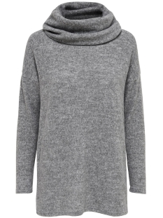 Only Trui onlIDA L/S LONG PULLOVER KNT 15139172 Light Grey Melange