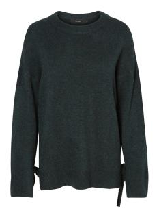 vmcersei ls o-neck tie blouse 10183109 vero moda trui green gabels