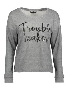 Vero Moda Sweater VMDIDDE LS WOW SWEAT SWT 10188790 Light Grey Melange