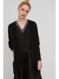 vmposh ls cardigan noos 10157988 vero moda vest black