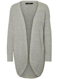 vmposh ls cardigan noos 10157988 vero moda vest light grey melange