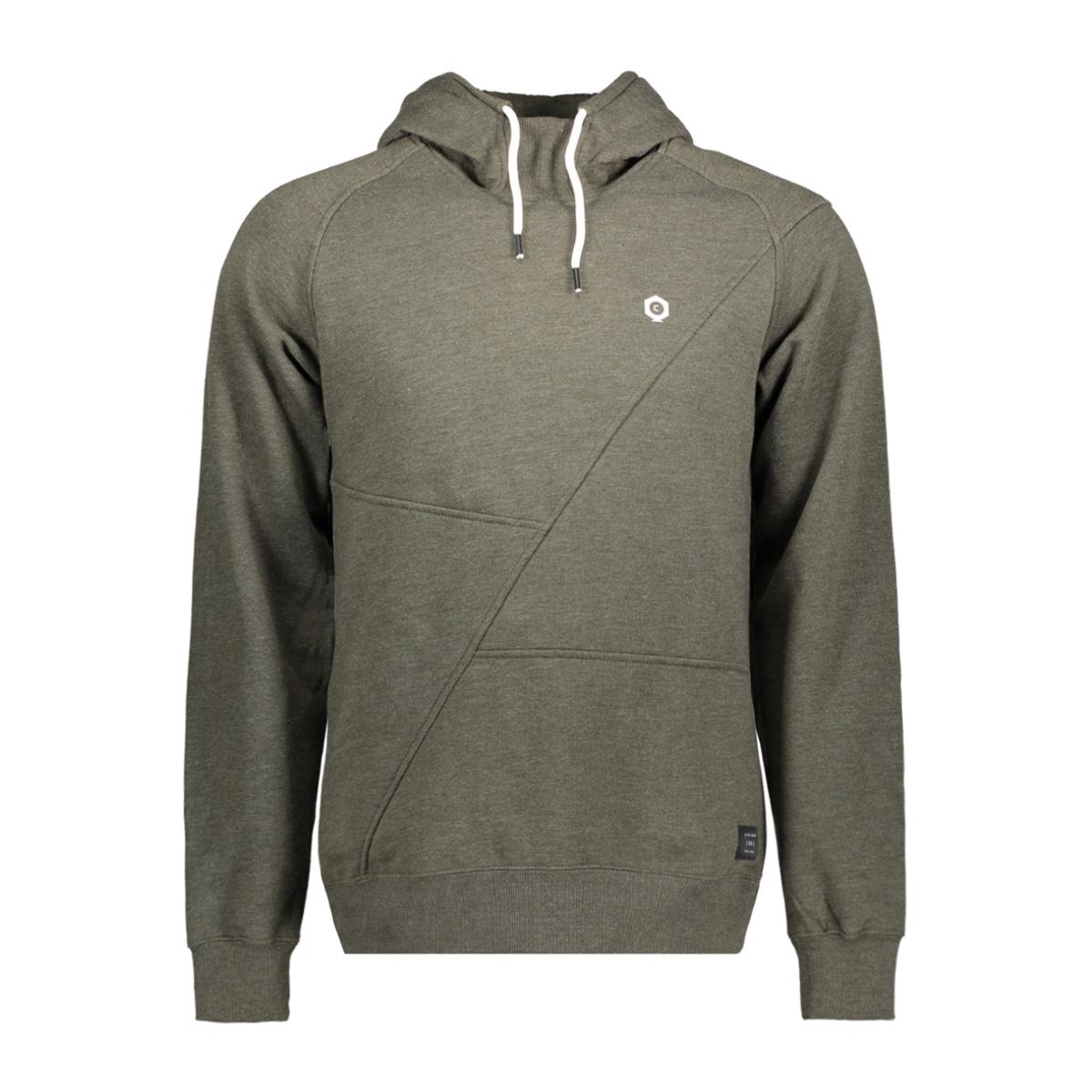 jcopinn sweat hood noos 12116490 jack & jones sweater rosin/mel/reg fit