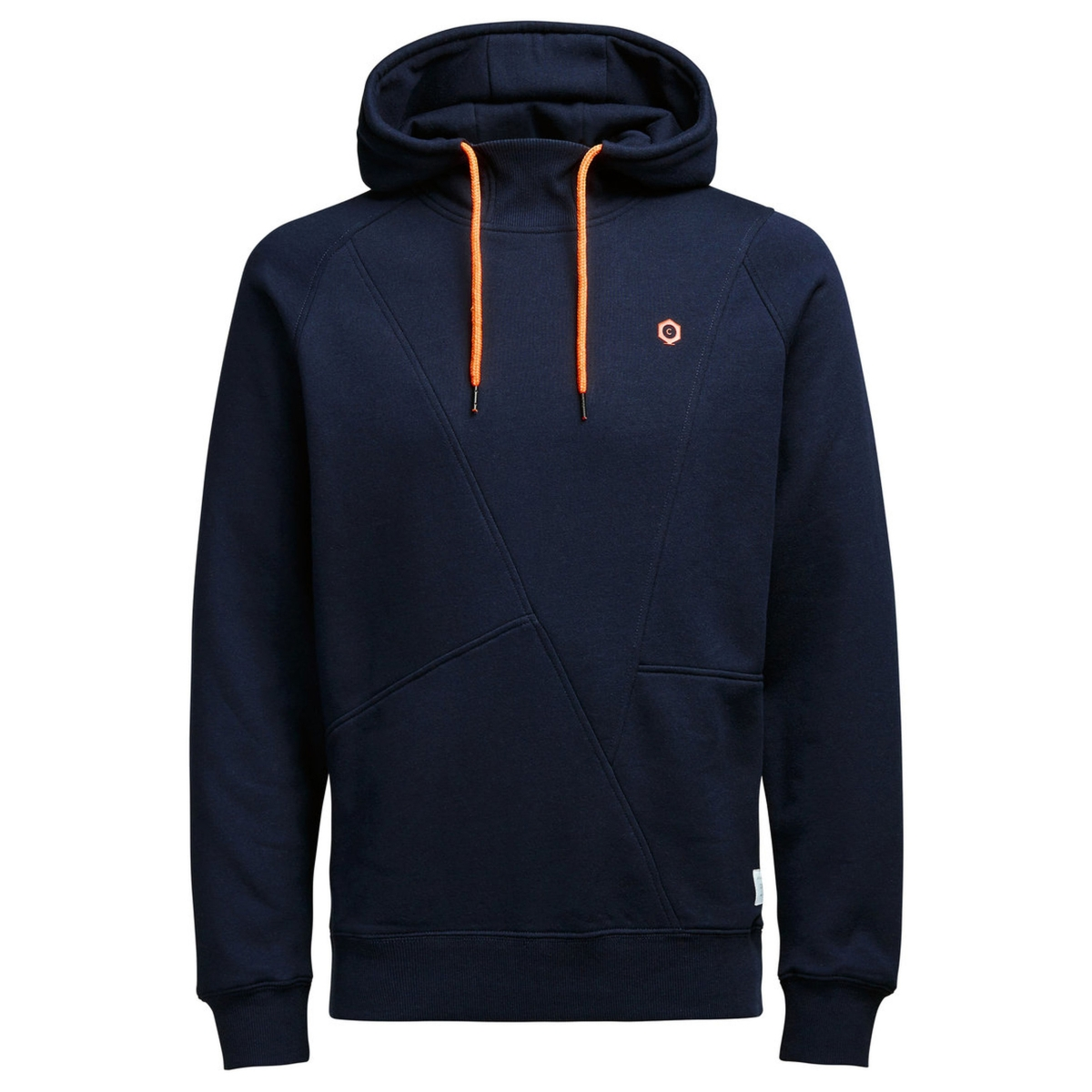 jcopinn sweat hood noos 12116490 jack & jones sweater navy blazer/reg