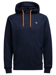 Jack & Jones Sweater JCOPINN SWEAT HOOD NOOS 12116490 Navy Blazer/Reg