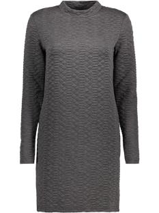 Jacqueline de Yong Jurk JDYSOUL HIGHNECK DRESS SWT 15140966 Dark Grey Melange