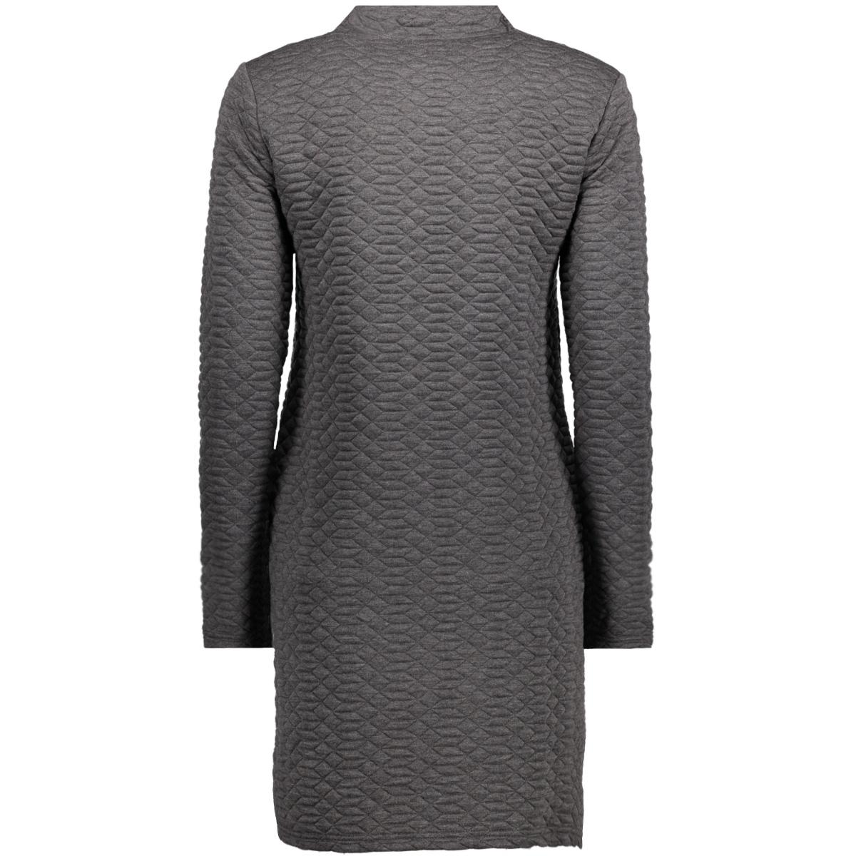 jdysoul highneck dress swt 15140966 jacqueline de yong jurk dark grey melange