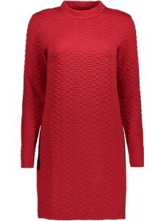 Jacqueline de Yong Jurk JDYSOUL HIGHNECK DRESS SWT 15140966 Scarlet Sage