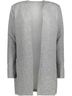 Jacqueline de Yong Vest JDYSOUL L/S SWEAT CARDIGAN SWT 15140963 Light grey melange