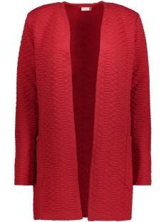 Jacqueline de Yong Vest JDYSOUL L/S SWEAT CARDIGAN SWT 15140963 Scarlet Sage
