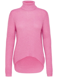 Jacqueline de Yong Trui JDYSANNA L/S HIGHNECK PULLOVER KNT 15141006 Aurora Pink/MELANGE