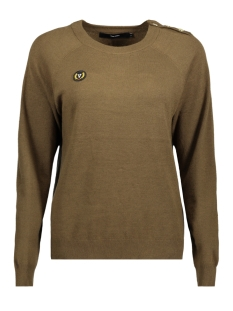 Vero Moda Sweater VMBLYTHE SVEA LS O-NECK BLOUSE 10182201 Dark Olive
