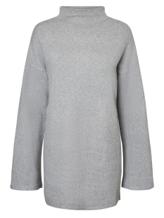 Vero Moda Trui VMCOLMA BRILLIANT LS FUNNELNECK 10183847 Light Grey Melange