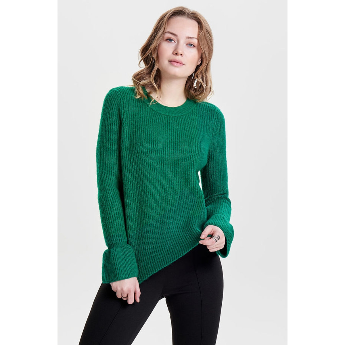 onlmoani l/s pullover knt 15148578 only trui shady glade / w. melange