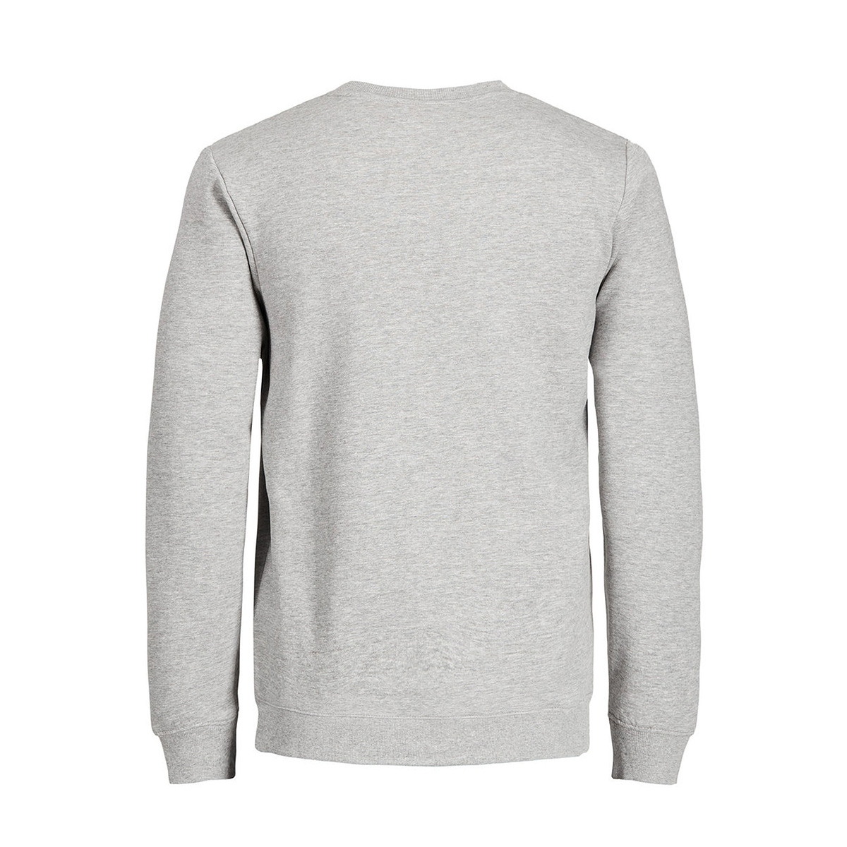 jorsoftneo sweat crew neck 12130938 jack & jones sweater light grey melange