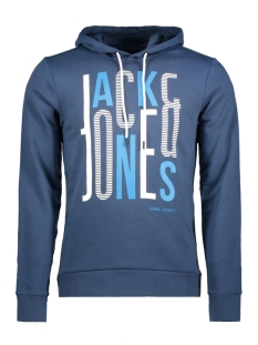 Jack & Jones Sweater JCOBOOSTER SWEAT HOOD 0011 12137596 Sargasso Sea