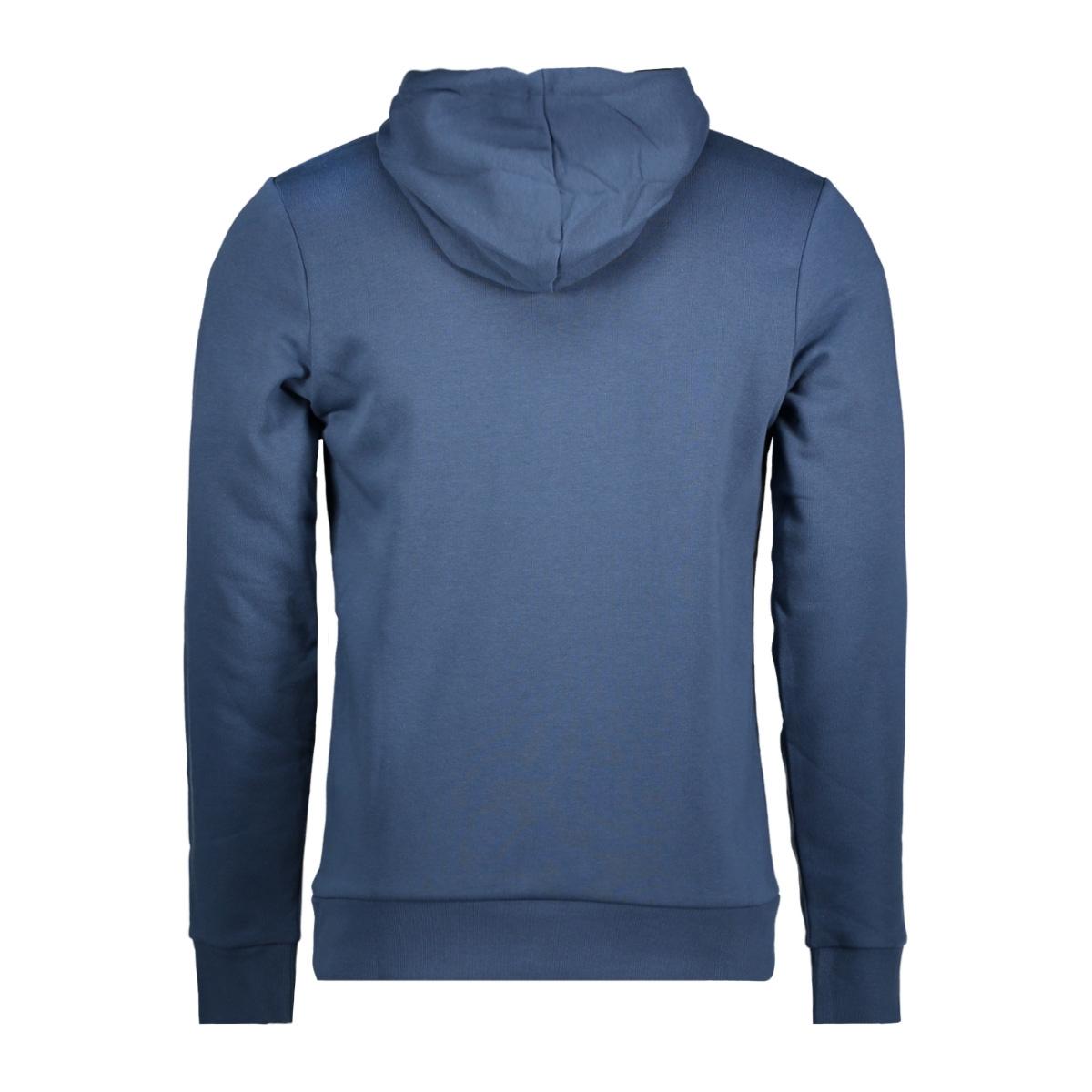 jcobooster sweat hood 0011 12137596 jack & jones sweater sargasso sea