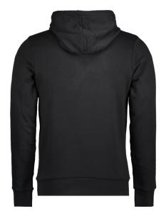 jcobooster sweat hood 0011 12137596 jack & jones sweater black