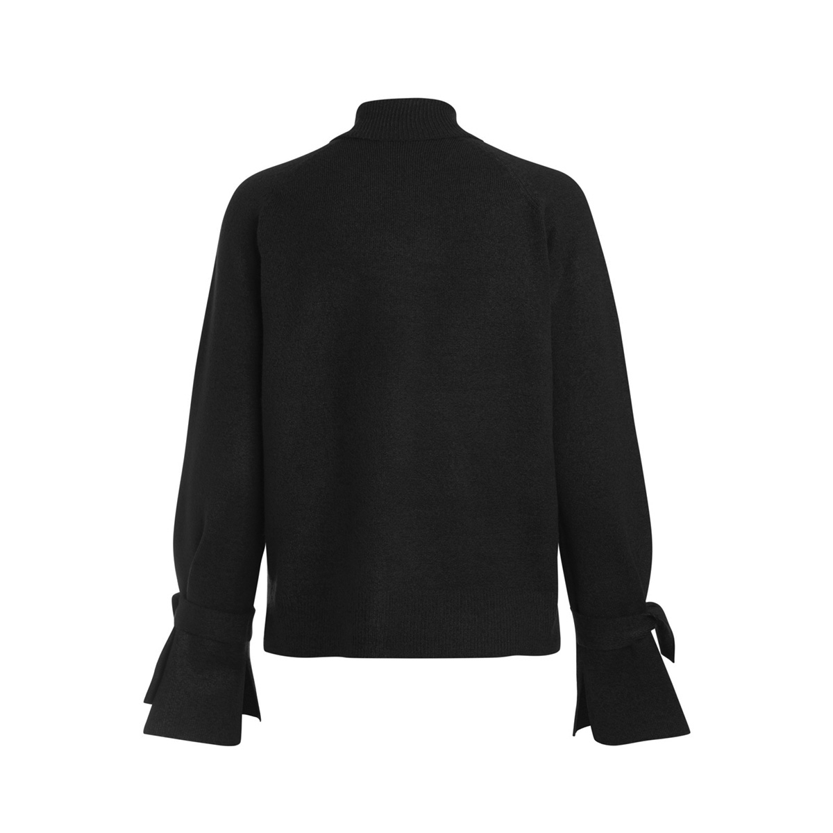 pcregitta ls rollneck knit 17085331 pieces trui black