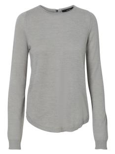 Vero Moda Trui VMCLEMENTINE COPENHAGEN LS ZIPPER B 10157562 Light Grey Melange