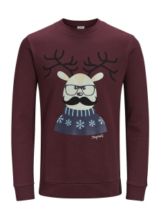 Jack & Jones Sweater JORXMAS SWEAT CREW NECK 12128387 Sassafras