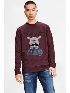 jorxmas sweat crew neck 12128387 jack & jones sweater sassafras