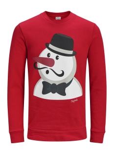 Jack & Jones Sweater JORXMAS SWEAT CREW NECK 12128387 Scarlet Sage