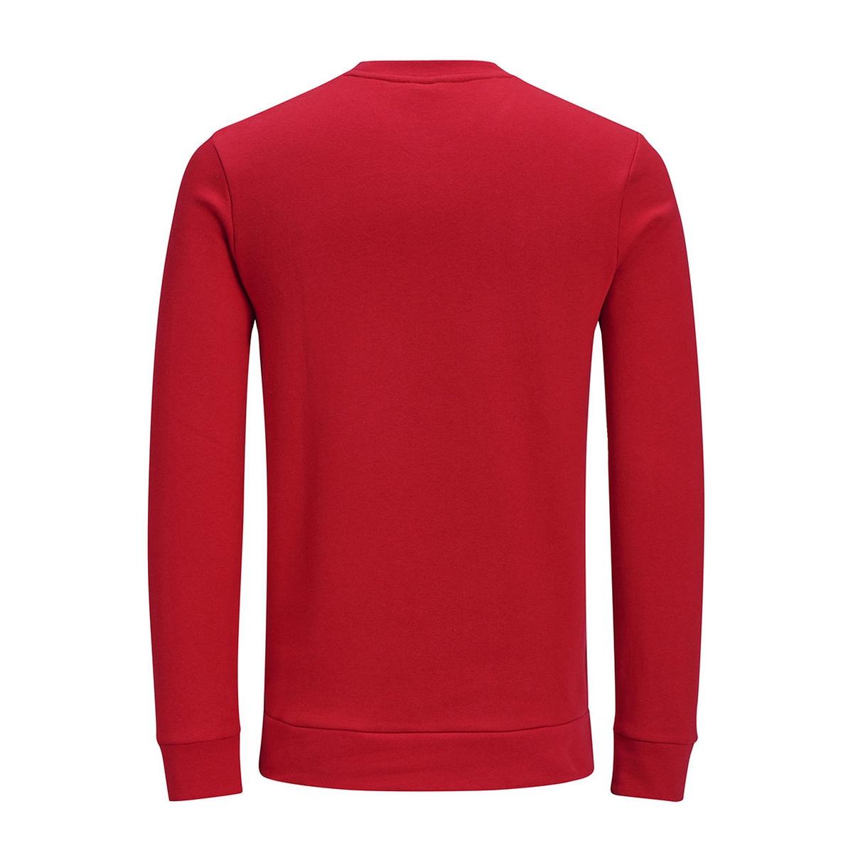 jorxmas sweat crew neck 12128387 jack & jones sweater scarlet sage