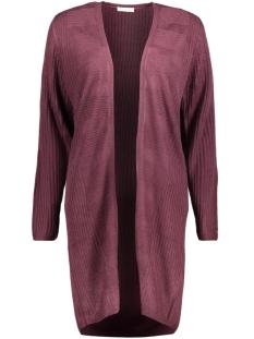 Jacqueline de Yong Vest JDYCAKE L/S CARDIGAN KNT 15142285 Potent Purple