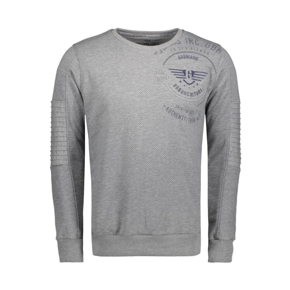 76125 gabbiano sweater grey